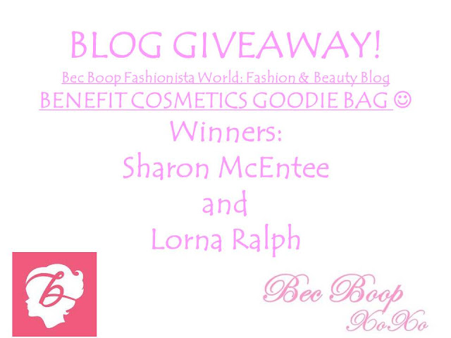 Blog Giveaway Benefit Cosmetics