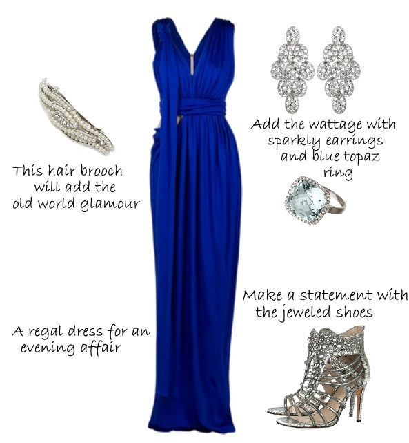 Royal Blue And Silver Wedding Ideas Unique Dresses