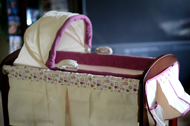 Bassinet And Changing Table