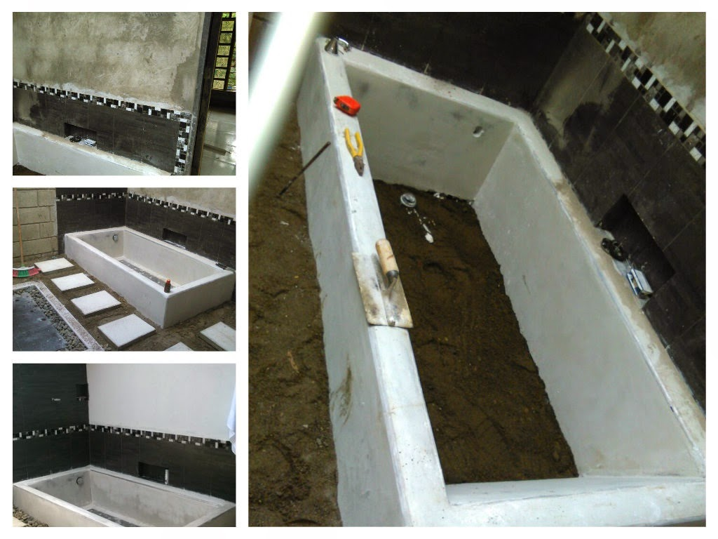 Decoracion Baño Rural: casa rural: Construyendo un baño al aire libre en una casa rural
