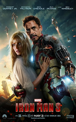 Iron Man 3 Robert Downey Jr. Gwyneth Paltrow Poster
