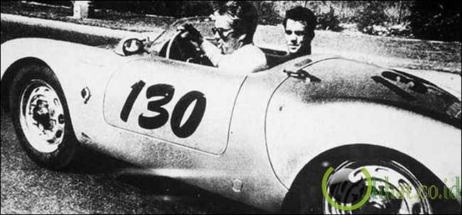Kutukan Mobil Porsche James Dean