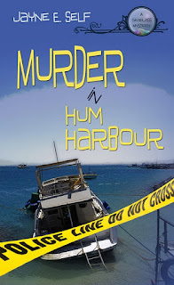 a boat is shown on the cover with police tape in front of it