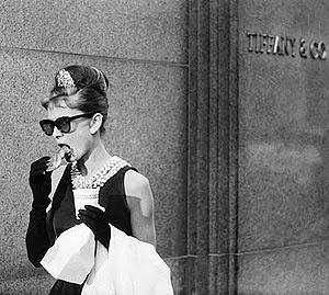 Audrey Hepburn en Desayuno con diamantes, de 1961, de Blake Edwards