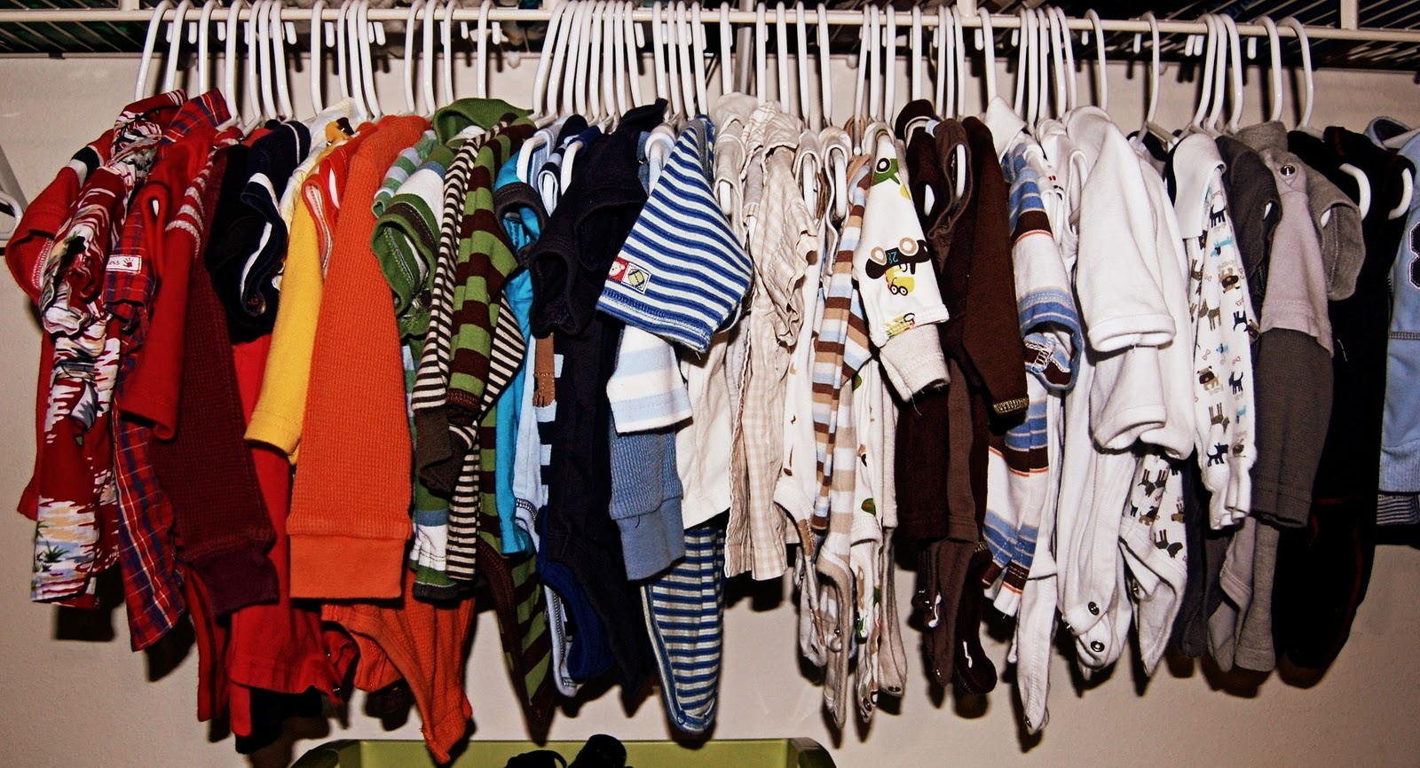 Every Closet In My House Has The Clothes In It Hung In Color Order... I  Realize I May Not Be The Only One Out There Who Does This.