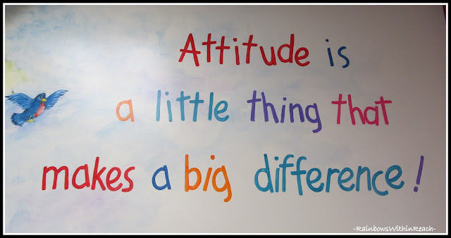 photo of: Kindergarten Painted Wall Mural: Attitude