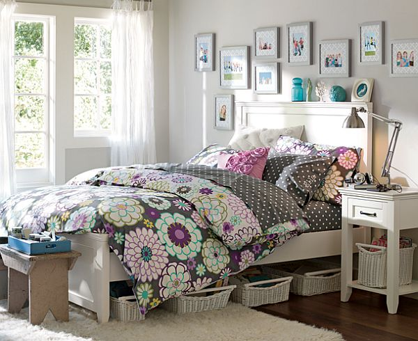 30 room design ideas for teenage girls interior design for Bedroom ideas for teenage girls 2012