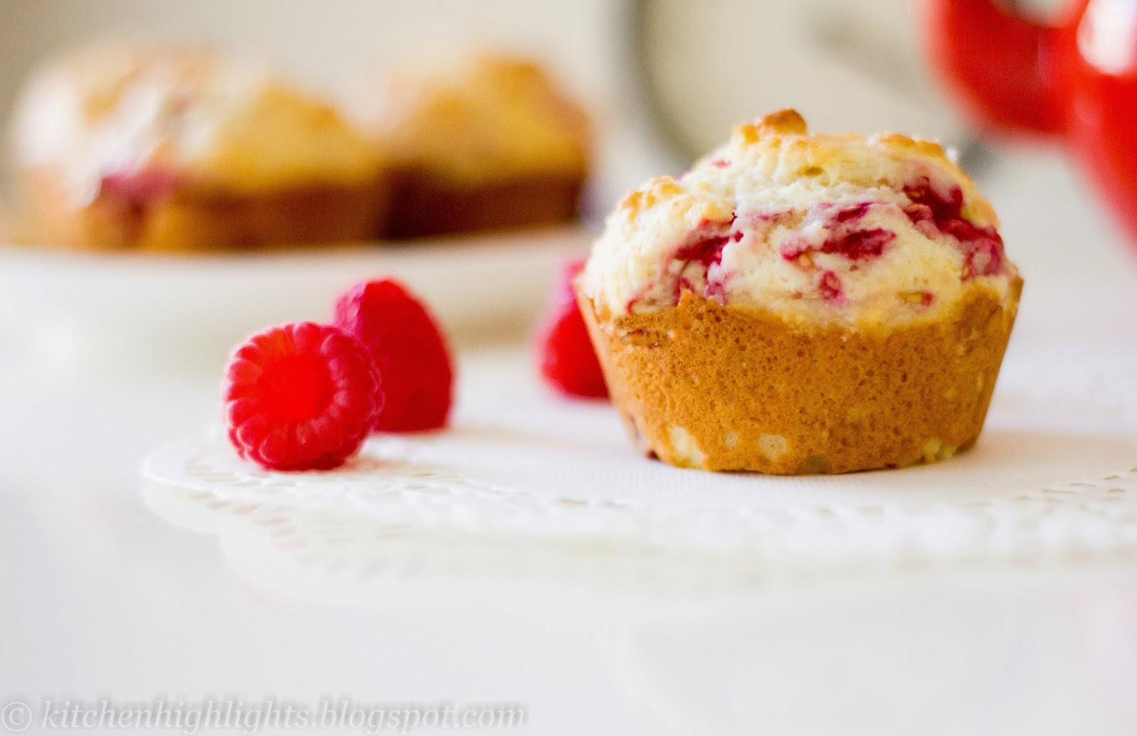 Waking up to the smell of warm raspberry muffins is a delicious way to start off a beautiful morning