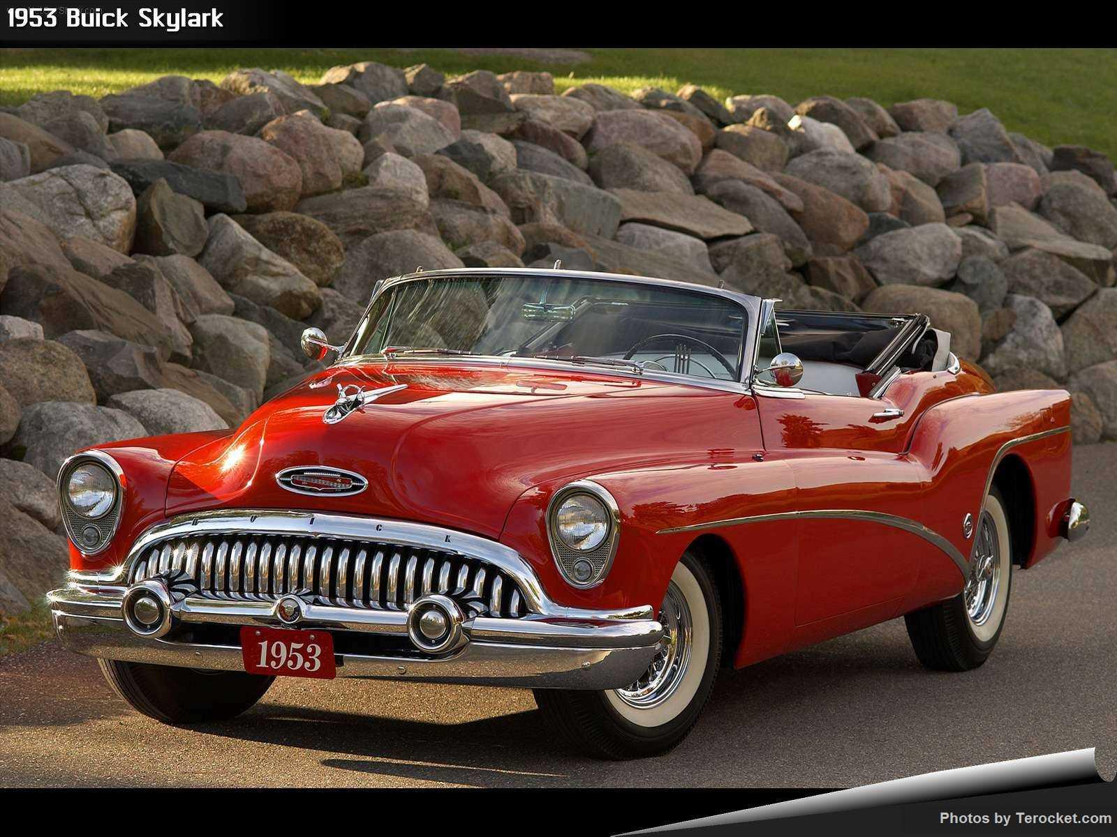 Hình ảnh xe ô tô Buick Skylark 1953 & nội ngoại thất
