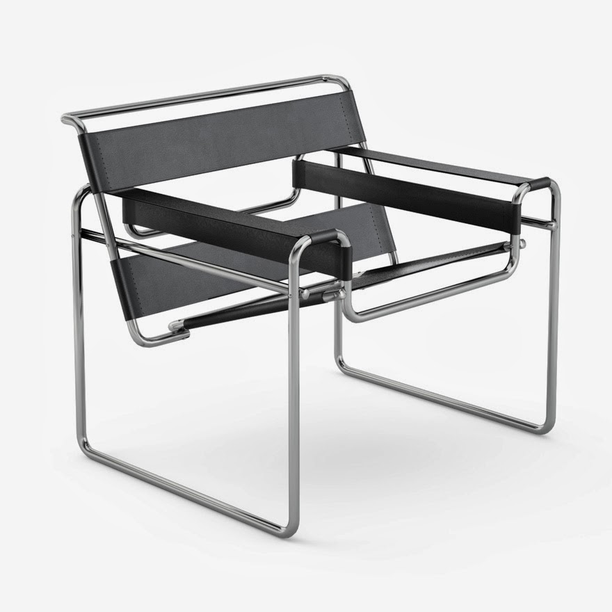 Studio 40 de tijdloze wassily chair for Wassily stuhl design analyse