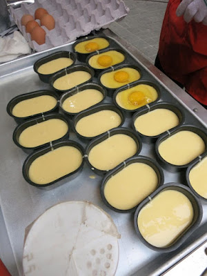 Korean Street Food called Egg Bread