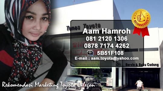 Rekomendasi Sales Tunas Toyota Cilgon - Banten