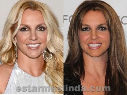 Britney Spears antes y después