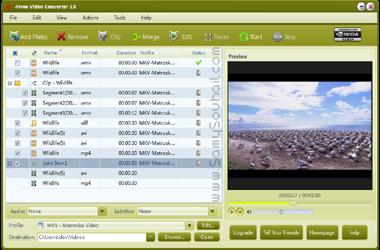 برنامج 4Free Video Converter لتحويل جميع صيغ الفيديو بدون اسثناء مجانا!