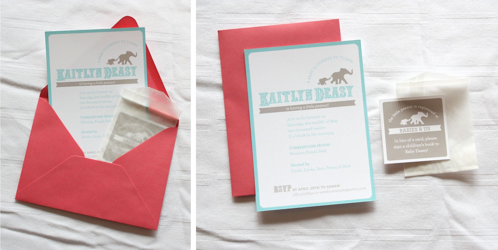 Andrea Espach Design: What I\'m Working on Wednesday :: Baby Shower ...