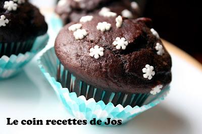 recettes  Muffins au chocolat (qui ressemblent à ceux de Starbucks)