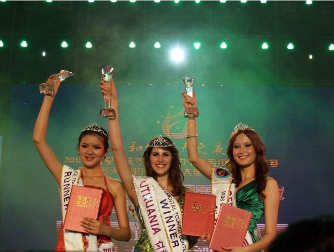 Miss Oriental Tourism 2012 winner Lithuania Kristina Zukauskaite