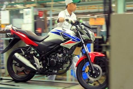 Honda trình là CBR150R StreetFire 2014