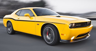 Dodge Challenger Yellow Jacket 2012