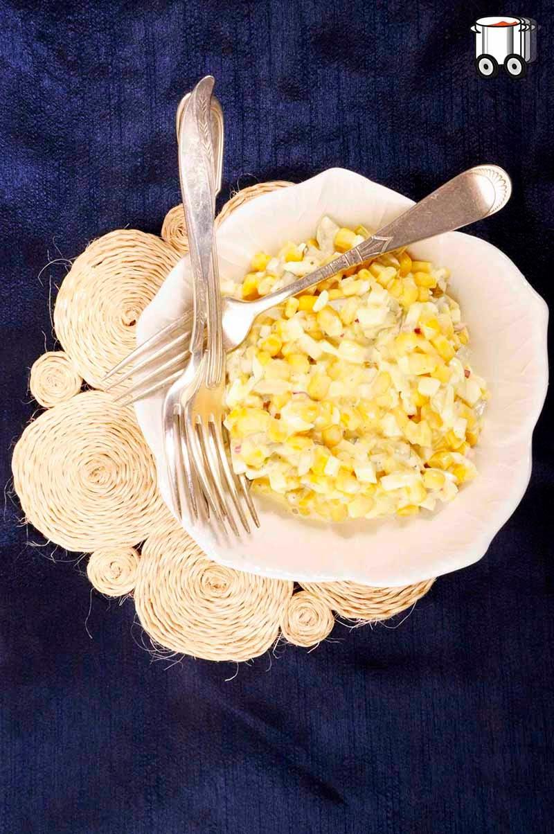 Szybko Tanio Smacznie - Wielkanocna sałatka kukurydziana