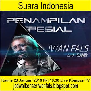 Penampilan Iwan Fals Kamis 28 Januari 2016
