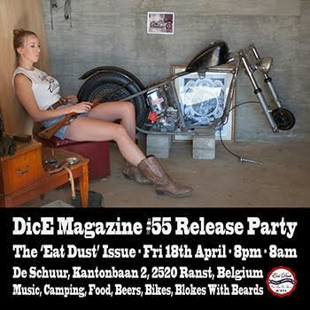 Issue 55 Release Party : April 18th - Antwerp, Belgium