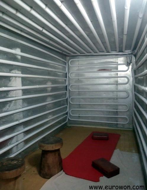 Sala de frío en el jjimjilbang