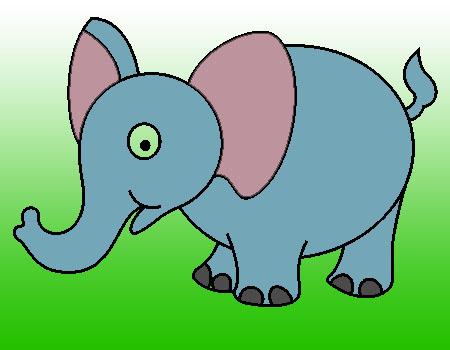 dalam menggambar gajah ikuti tahap tahap menggambar gajah mudah