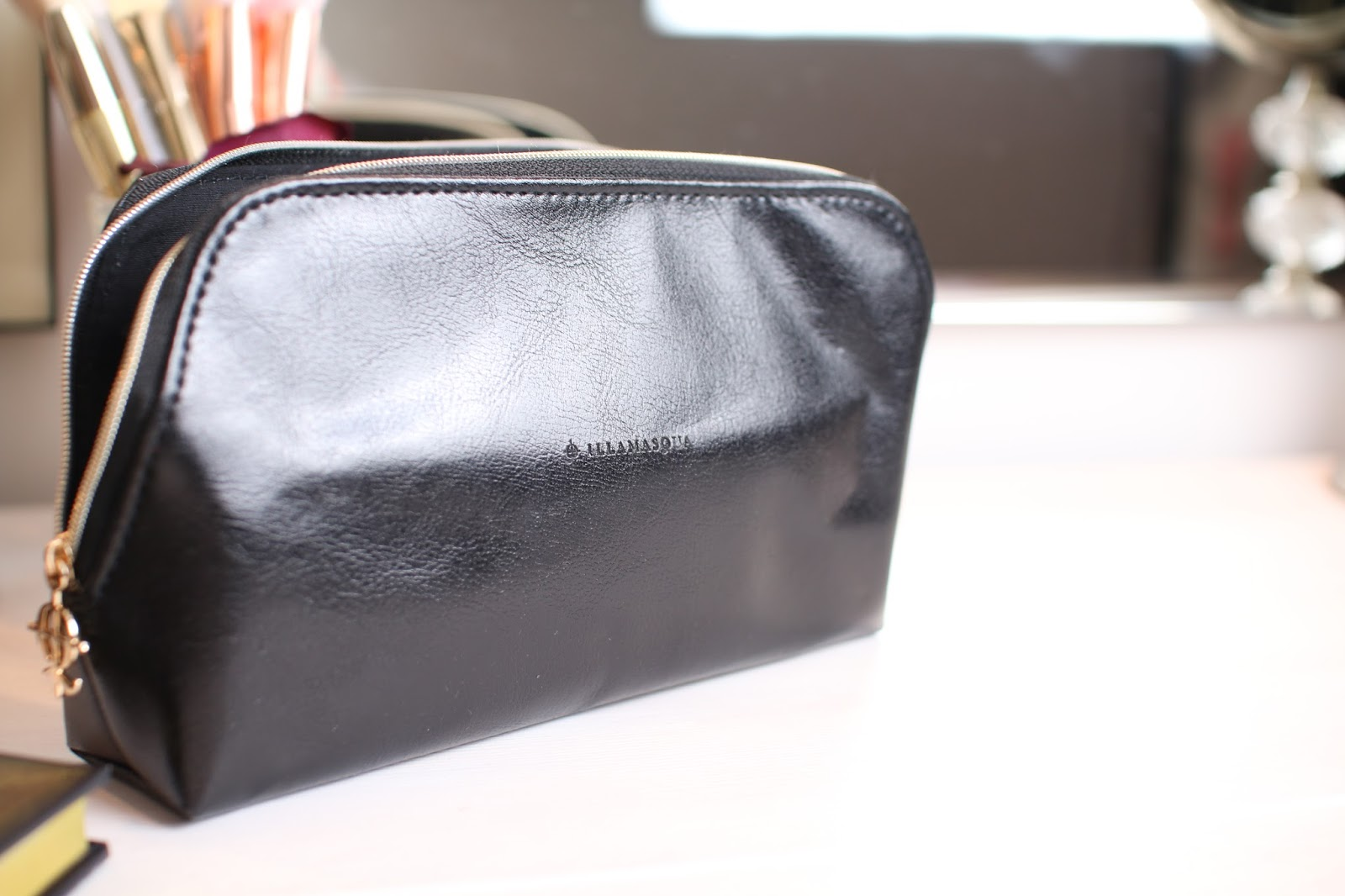 Illamasqua make up bag