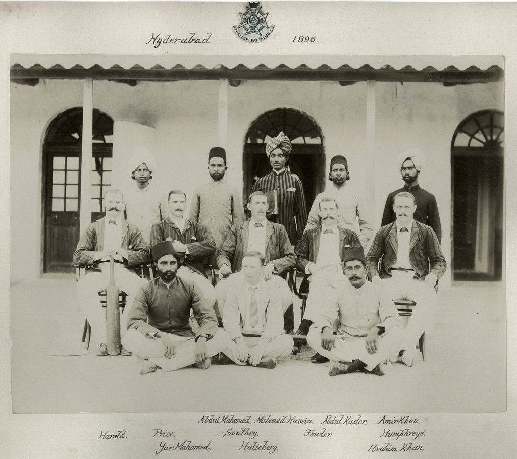 129th Baluch Regiment in Hyderabad in Sindh Province - 1896