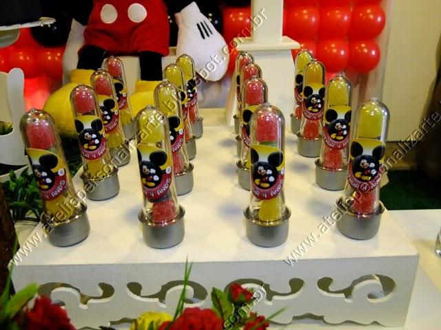 Decoração de festa Mickey provençal Porto Alegre