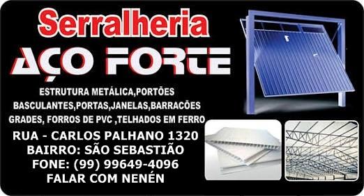 SERRALHERIA AÇO FORTE