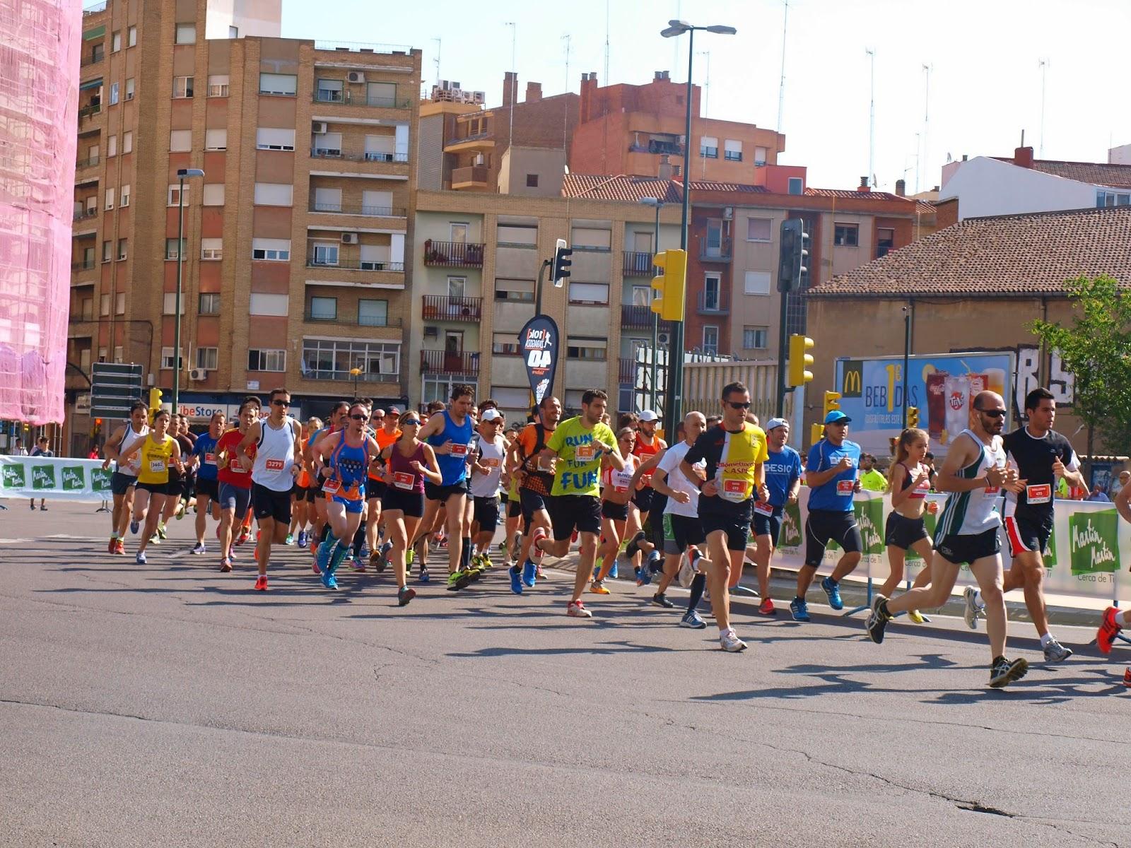 10k zaragoza carrera 2014 running fotos