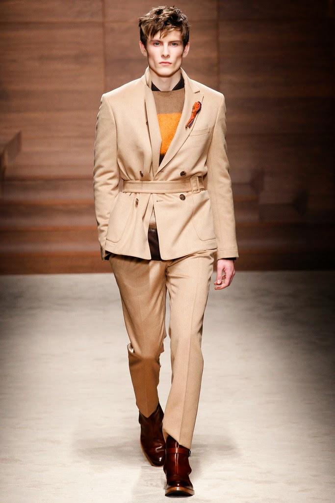 e0735cb098b Luxury Purse Sale  Salvatore Ferragamo 2014 Winter Series men s show