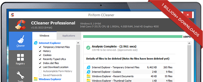 Download Gratis CCleaner Terbaru