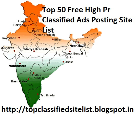 Top 50+ Free India Classified Sites