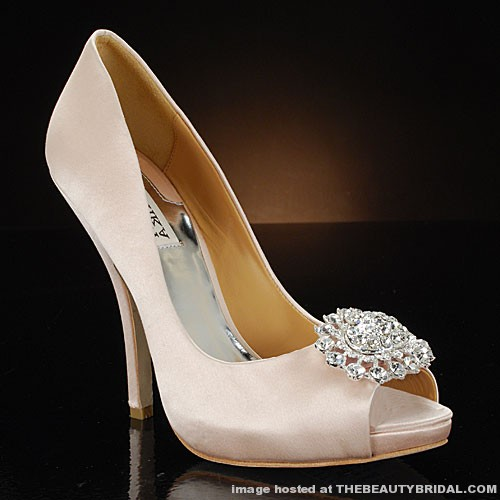 Wedding Shoes Like Badgley Mischka