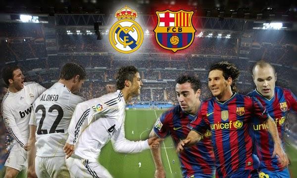 Video Siaran Ulang Pertandingan Real Madrid vs Barcelona 2014