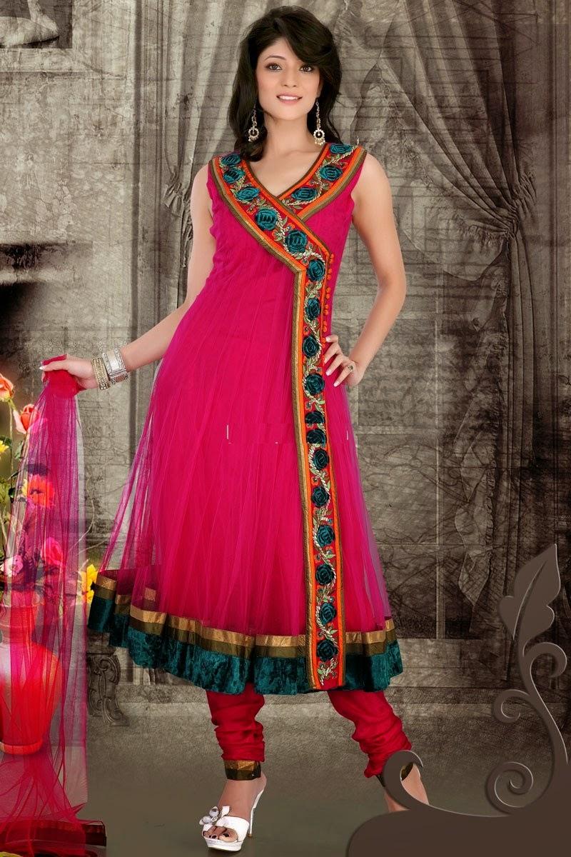 Angrakha Shalwar Kameez 2015 Suits