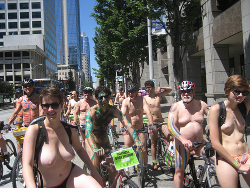 Pictures bike ride madison naked