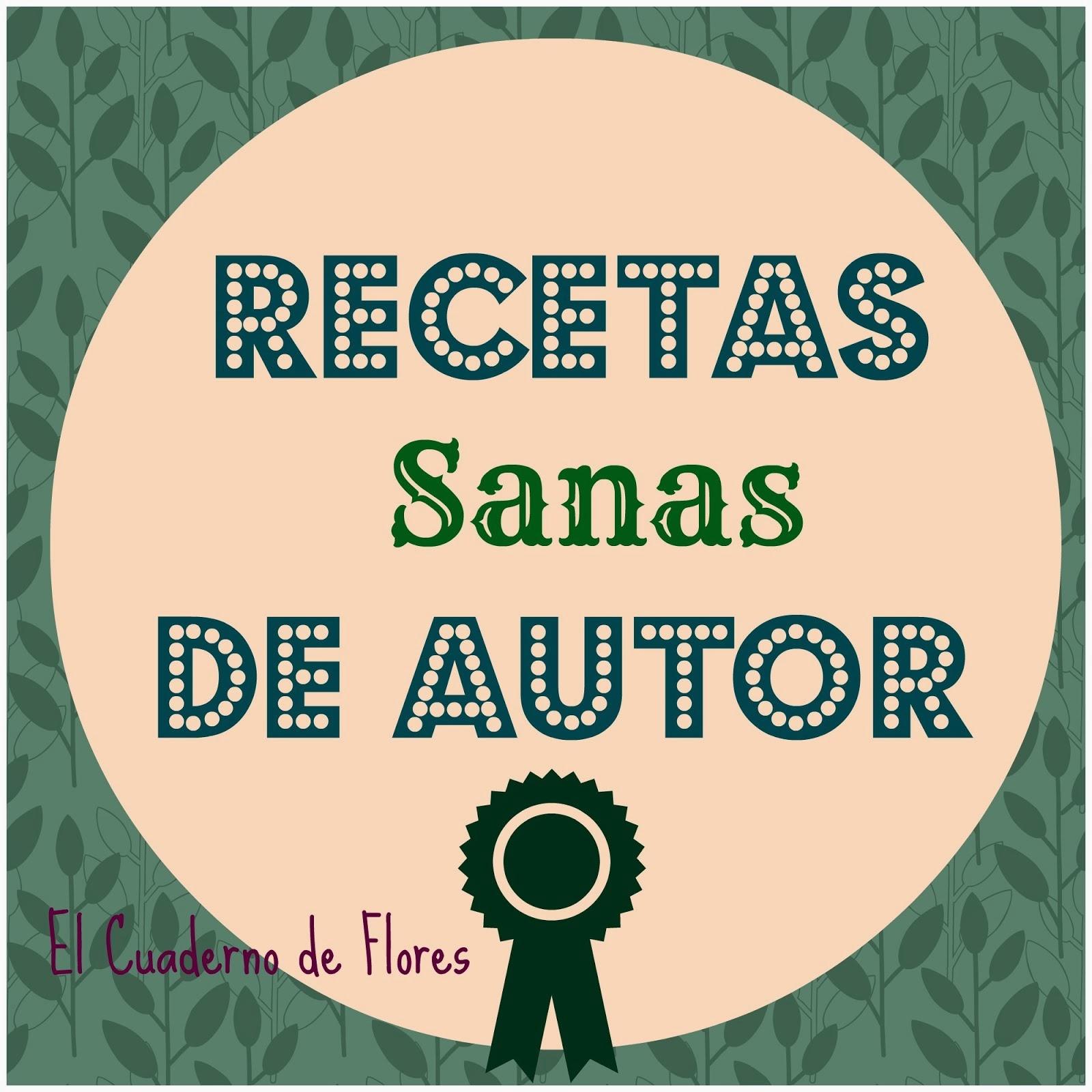 Recetas SANAS de autor