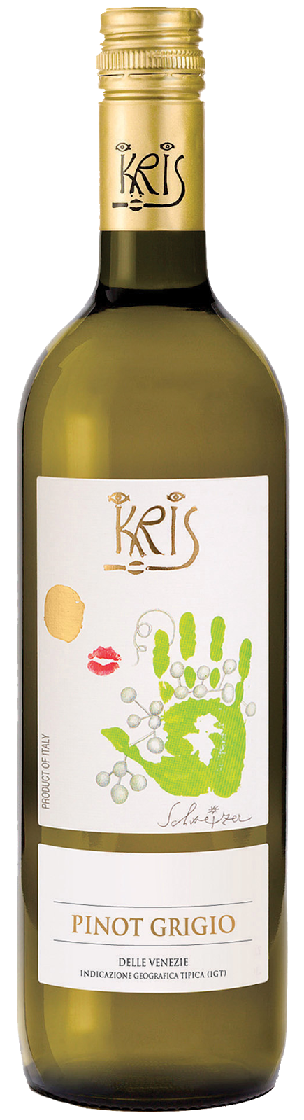 Grilled Vegetables - 2013 Kris Pinot Grigio