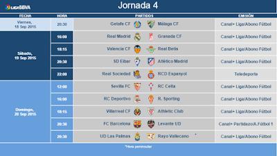 jornada 4 liga