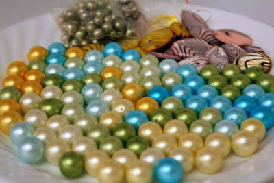 Eye candy: pastel glass pearls :: All Pretty Things