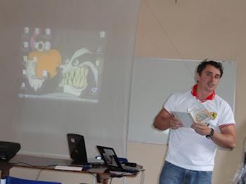 """Comunicação: A CRÍTICA LITERÁRIA NA OBRA """"IMAGO"""" DE CARLOS ALBERTO SUNIGA DOS SANTOS"""