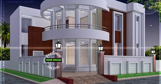 News and article online modern house plan with round for Round house plans free