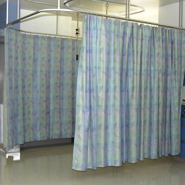 Hospital Bed Privacy Curtains