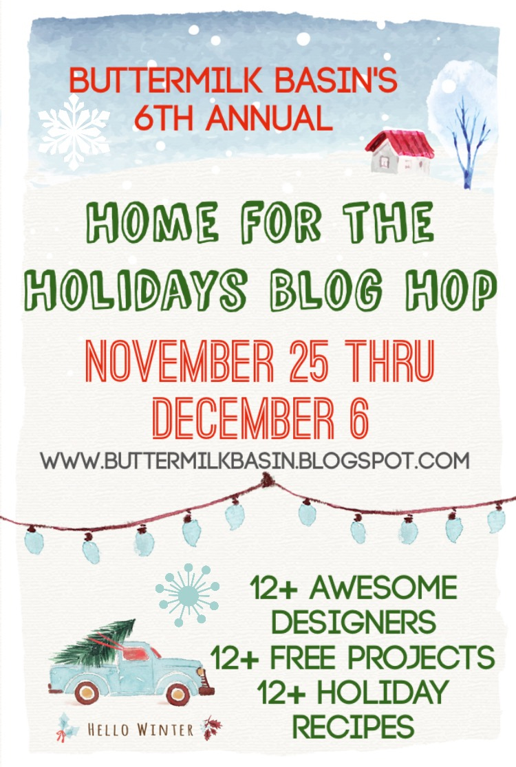 BUTTERMILK BASIN BLOG HOP