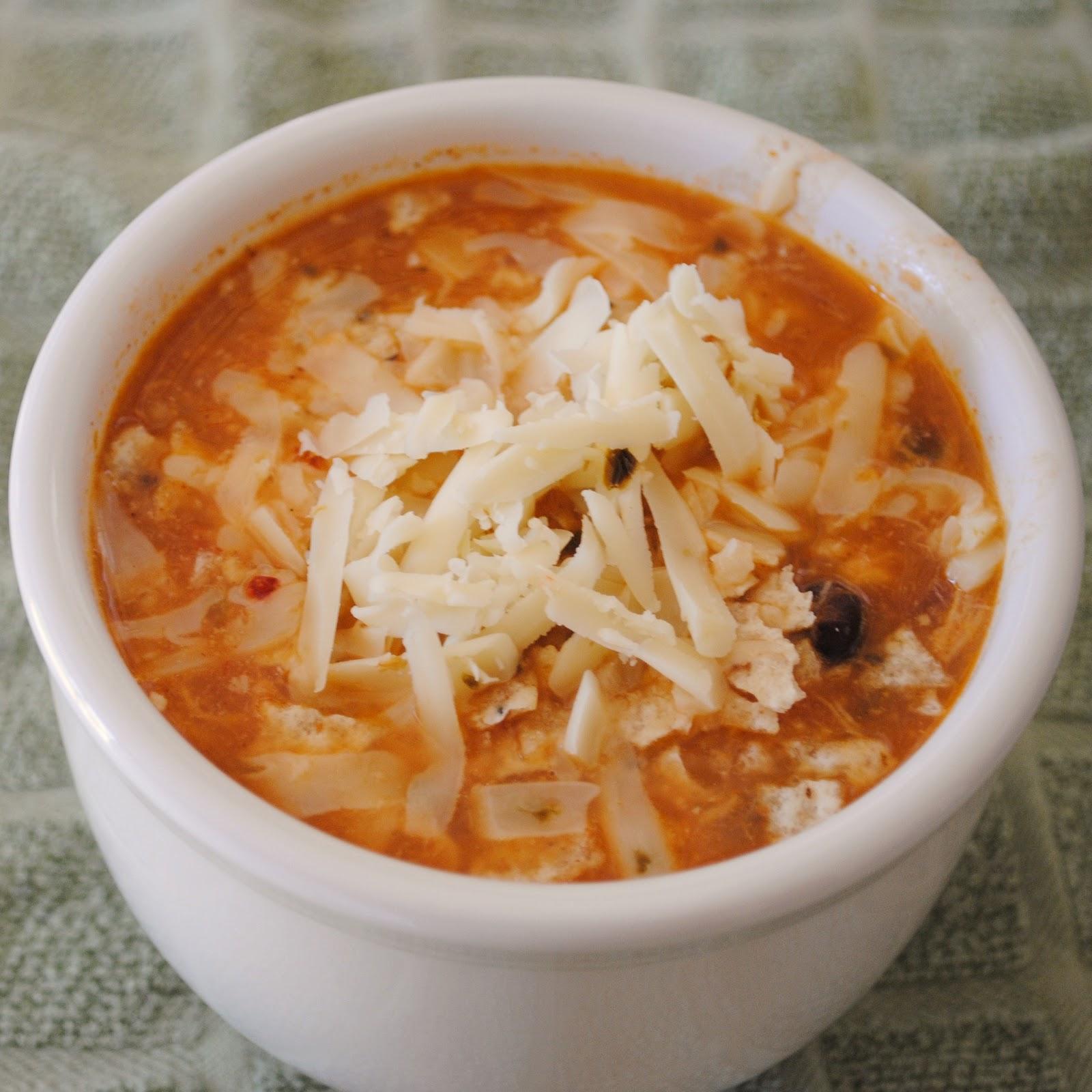 enchilada soup mix chicken enchilada soup in the pot chicken enchilada ...