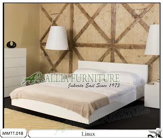 Tempat Tidur Modern Minimalis Model Linux